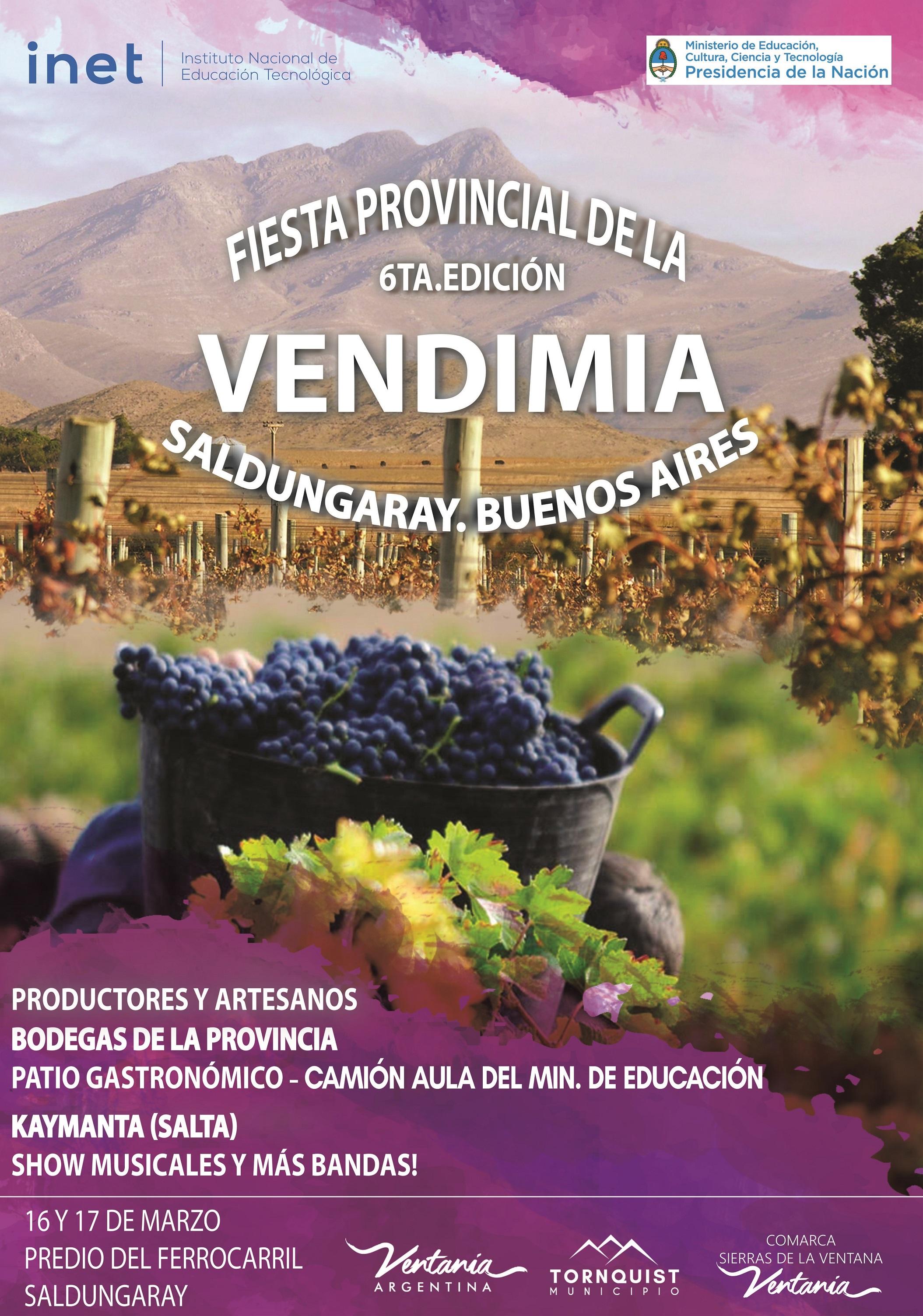 Llega este fin de semana la 6ta edición de la FIESTA DE LA VENDIMIA (VIDEO ENTREVISTA)