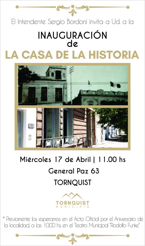 136° Aniversario de la fundación de Tornquist