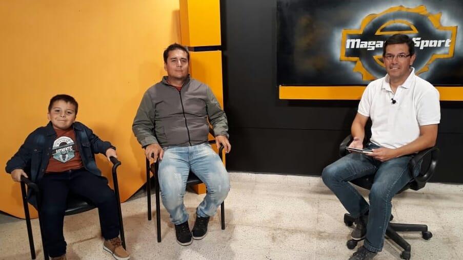 IAN Y MAXI BEDOURET COMPARTEN LA PASIÓN POR EL CICLISMO (VIDEO ENTREVISTA)