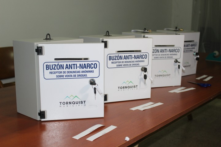 HCD.: Entregaron los Buzones Anti-Narco (fotos y video)
