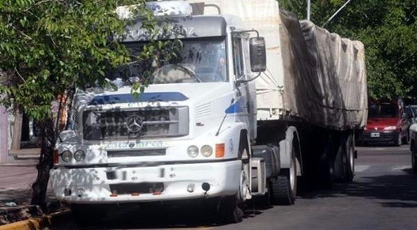 Circulación y estacionamiento de camiones
