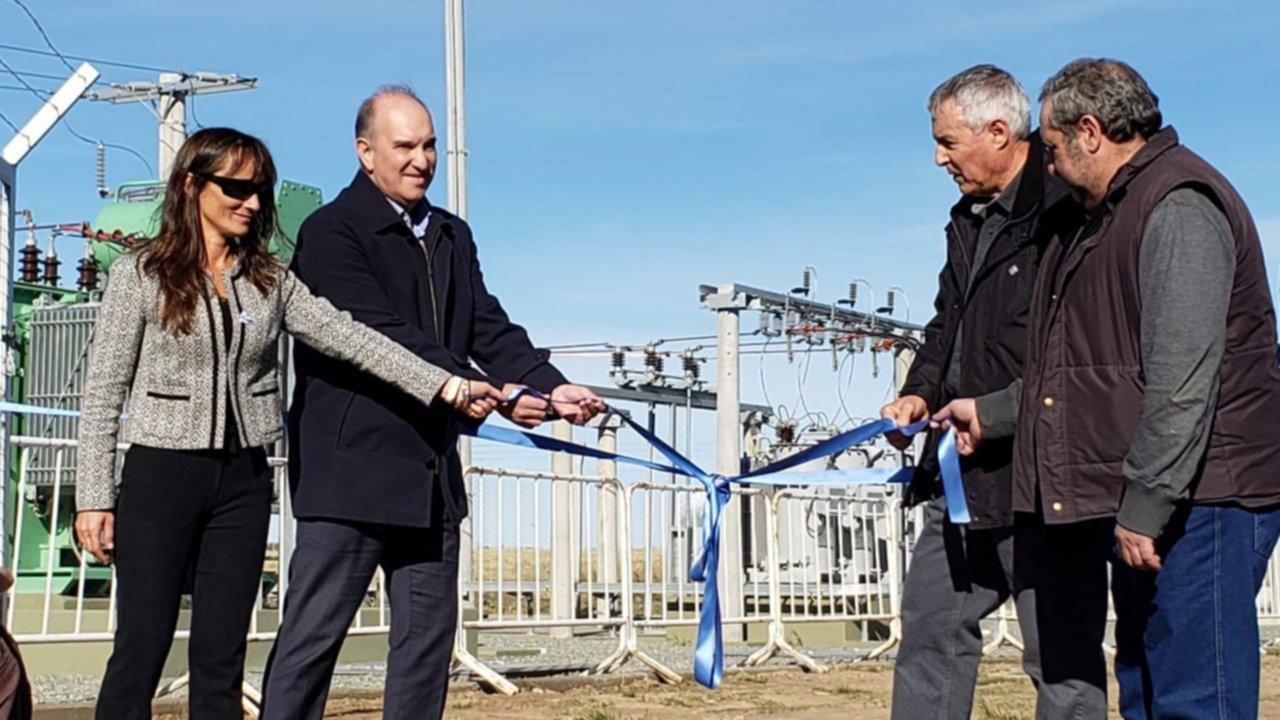 Inauguraron la nueva Estación Transformadora Sierra de la Ventana