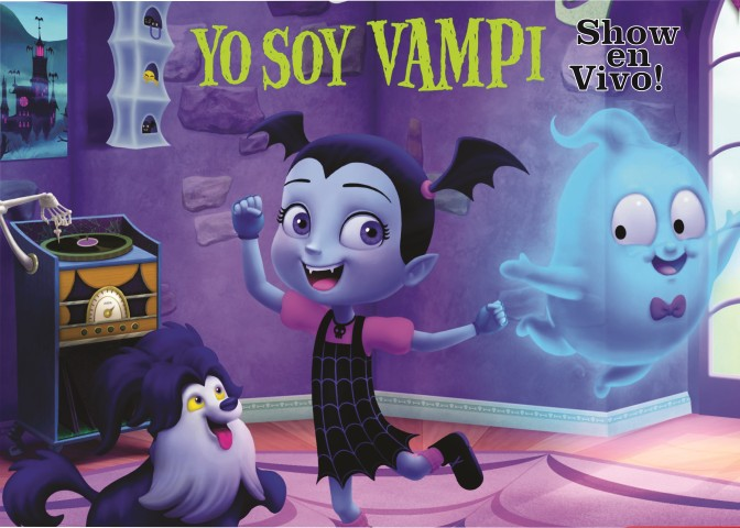 ¡LLEGA AL TEATRO EL SHOW MÁS ESPERADO: Vampirina!