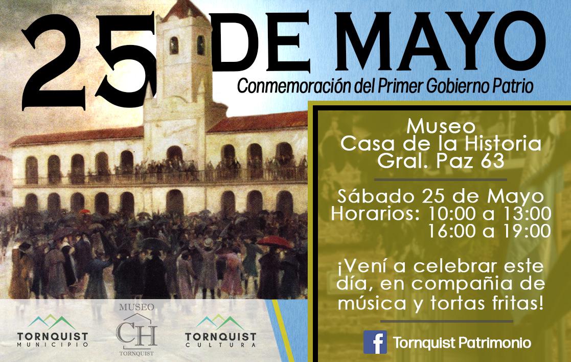 Actividades para celebrar el 25 de Mayo en Tornquist y Sierra de la Ventana