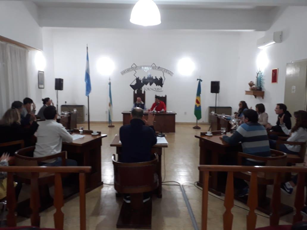 Informe de la Asamblea de Concejales y Mayores Contribuyentes junto a la última sesión ordinaria del HCD