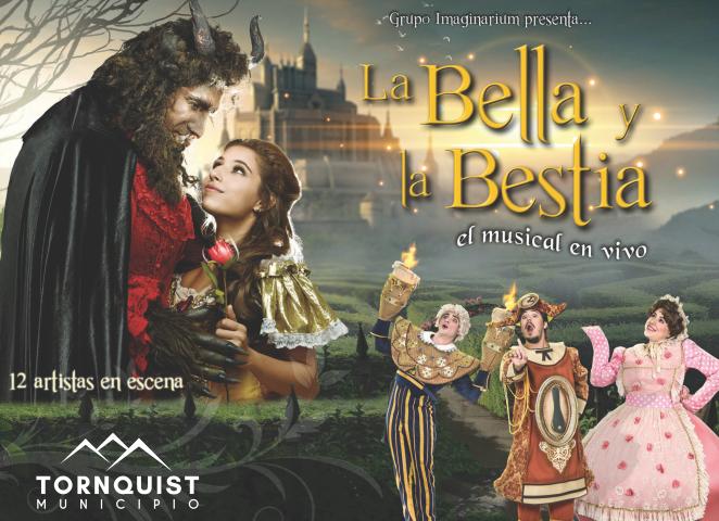 La Bella y la Bestia llegan en vacaciones de invierno