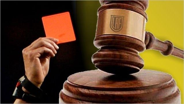 Liga Regional de Fútbol: Las fallos del Tribunal de Penas