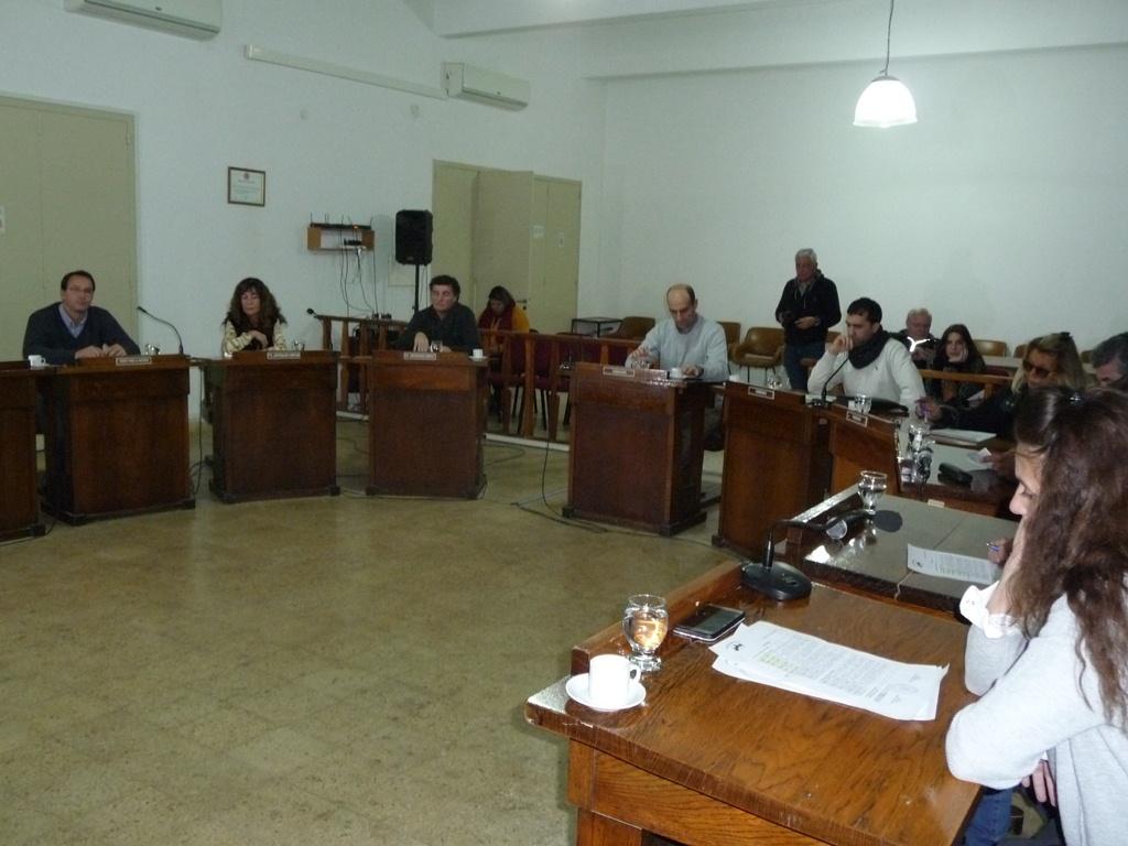 Informe de la última sesión ordinaria del HCD